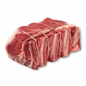 لحم البقر الخام الصليب الضلع تشاك المشوي