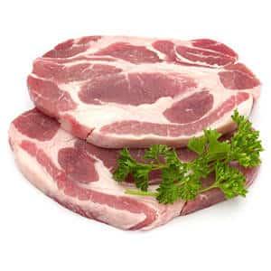 Buy Fresh Pork Neck Steaks